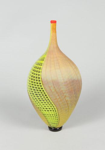 Vaso bamboo battuto