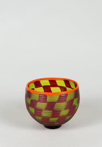 Funtime's cup verde rossa a scacchi battuta