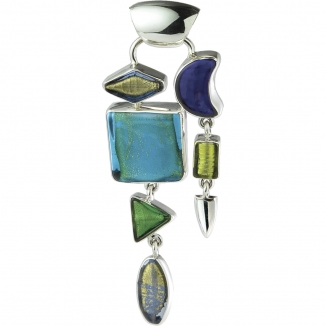 Silver 925 and Glass Jewelry